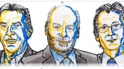 Le prix Nobel de chimie 2016 décerné au Français Jean-Pierre Sauvage au Britannique J. Fraser Stoddart, et au Néerlandais Ber...