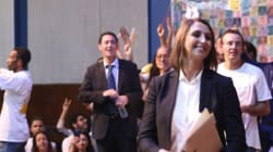 Nabila Mounib accueillie comme une rock star à