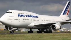 Quand des avions Air France crient