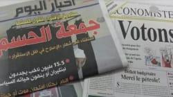 Les élections à la une (ou pas) des journaux