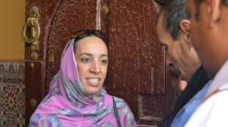 Mbarka Bouaida fait campagne à Guelmim