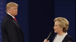 Όσα «είπε» η γλώσσα του σώματος Κλίντον-Τραμπ στο δεύτερο