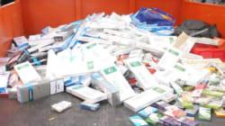 Tunisie: La police saisit pour plus d'un million de dinars de cigarettes de