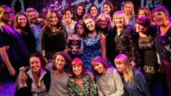 Art And Music Collide For Winning Performance At Funny Women