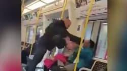 Ρατσιστική επίθεση στο μετρό του Λονδίνου. Λευκός άνδρας χτυπά μετανάστη και καταδιώκεται από μια