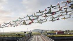 전 세계의 공항에서 비행기를 모은 채 찍은 '에어 포트레이트'