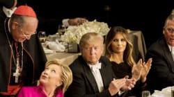 Γιατί η Κλίντον είπε τον Τραμπ άλογο του Πούτιν; Τα αστειάκια στο φιλανθρωπικό δείπνο των