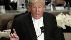 트럼프가 저급한 농담으로 자선 만찬회서 엄청난 야유를