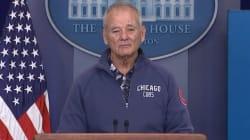 빌 머레이가 백악관을 침공해 이런 말을