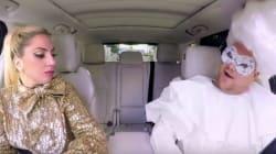 레이디 가가가 차 안에서 역대급 미니 콘서트를