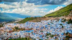 Chefchaouen, la ville bleue à la main
