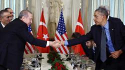 Επικοινωνία Ομπάμα και Ερντογάν για τις επιχειρήσεις κατά του Ισλαμικού