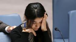 Le témoignage poignant de Nadia Murad, femme yézidie et co-lauréate du prix Sakharov