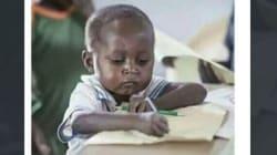 Πώς ένα παιδί από την Αφρική έγινε meme στην Δύση και κατάφερε να συγκεντρώσει χρήματα για το σχολείο