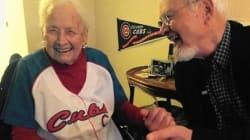 108년 만의 컵스 우승을 기대하는 108세