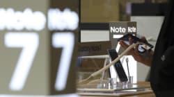 삼성이 아직까지 노트7을 반품하지 않은 고객들을 위해 깜짝선물을
