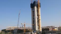 Bouteflika inspecte les travaux de la grande mosquée