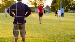 Wenn Eltern beim Fußball