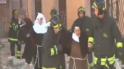 La basilique Saint Benoit, un des symboles de l'Italie a été détruite par le tremblement de