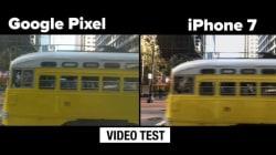 구글 픽셀폰과 아이폰7, 7플러스의 카메라를