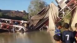 Un pont s'effondre dans le centre du Maroc