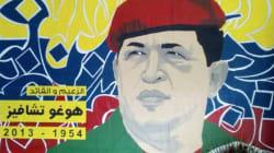 Une oeuvre à l'effigie d'Hugo Chavez à
