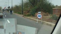 A Marrakech, même les barrages de police se mettent au