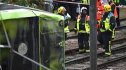 Πέντε νεκροί και 50 τραυματίες από εκτροχιασμό τραμ στη