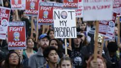 Δεύτερη ημέρα διαδηλώσεων κατά του Τραμπ στις