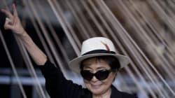 오노 요코가 트럼프 당선 소식에 공식입장을