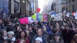 Aux États-Unis, les manifestations anti-Donald Trump ne faiblissent