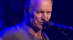 Les mots justes de Sting avant le concert hommage au