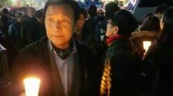 손학규의 시위 참석이 여타 정치인과는 다른 이유로 주목받고 있다