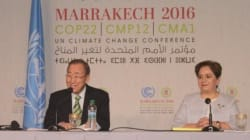 COP22: Ban Ki-moon salue le leadership du roi Mohammed