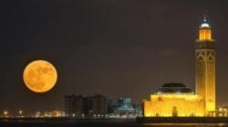 Cette photo de la super lune prise à Casablanca vaut le
