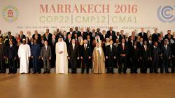 Les chefs d'Etat prennent la pose durant la COP22