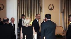 Όσα έγιναν στο δείπνο για τον Ομπάμα στο Προεδρικό. Οι selfies, ο ενθουσιασμός με την παιδική χορωδία και οι