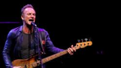 Sting ne regrette pas d'avoir chanté