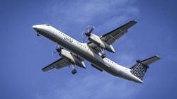 Δύο άτομα τραυματίστηκαν όταν αεροσκάφος της Porter Airlines αναγκάστηκε να αποφύγει «UFO» πάνω από τη λίμνη