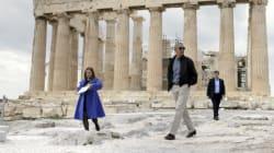 Βίντεο με αποκλειστικά πλάνα από την επίσκεψη του στην Ακρόπολη, στη σελίδα του Μπαράκ Ομπάμα στο