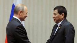 Ο πρόεδρος των Φιλιππίνων Ροντρίγκο Ντουτέρτε συνάντησε τον ήρωά του, τον Βλαντίμιρ