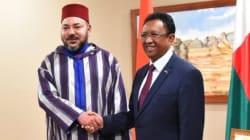 Le roi est arrivé à Madagascar, terre d'exil de Mohammed