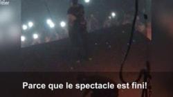 Kanye West hué par ses fans après un pétage de plombs en plein