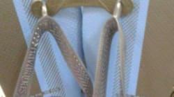 De quelles couleurs sont ces tongs? La nouvelle illusion d'optique qui trouble les