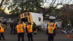 Τουλάχιστον έξι μαθητές νεκροί σε τροχαίο με σχολικό λεωφορείο στις