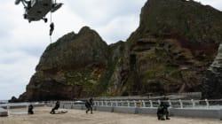 '한-일 군사협정' 맺으려 독도방어훈련