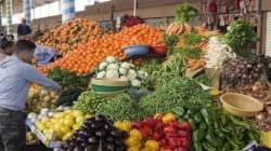Le rythme d'inflation annuel à 5,8% à fin