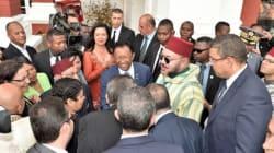 Quand le roi Mohammed VI se prête au jeu des