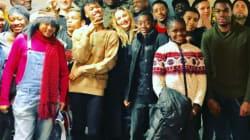 Madonna a passé Thanksgiving avec de jeunes SDF LGBT à