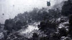 Τα πρώτα χιόνια στην Πάρνηθα. Που θα χιονίσει την